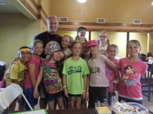 2013 Kids Camp with Pastor Dave girls